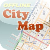 Birmingham Offline City Map with POI